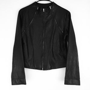 COLOVOS LEATHER JACKET SIZE 8